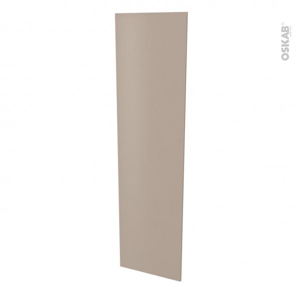 Finition cuisine - Joue N°89 - GINKO Taupe  - Avec sachet de fixation - L58 x H217 x Ep 1,6 cm