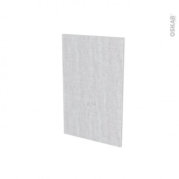 Porte lave vaisselle - Full intégrable n°87 - HODA Béton - L45 x H70cm