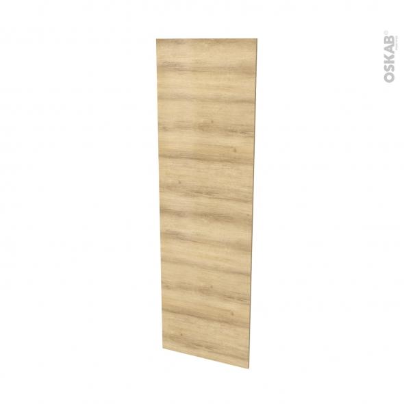 Finition cuisine - Joue N°88 - HOSTA Chêne naturel  - Avec sachet de fixation - L58 x H195 x Ep 1,6 cm