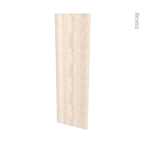 Finition cuisine - Joue N°88 - IKORO Chêne clair  - Avec sachet de fixation - L58 x H195 x Ep 1,6 cm