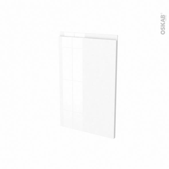 Façades de cuisine - Porte N°87 - IPOMA Blanc brillant - L45 x H70 cm