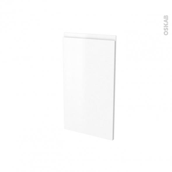 Façades de cuisine - Porte N°85 angle - IPOMA Blanc mat - L40 x H70 cm