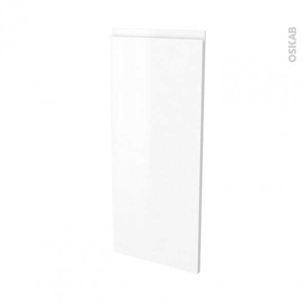 Façades de cuisine - Porte N°86 angle - IPOMA Blanc mat - L40 x H92 cm