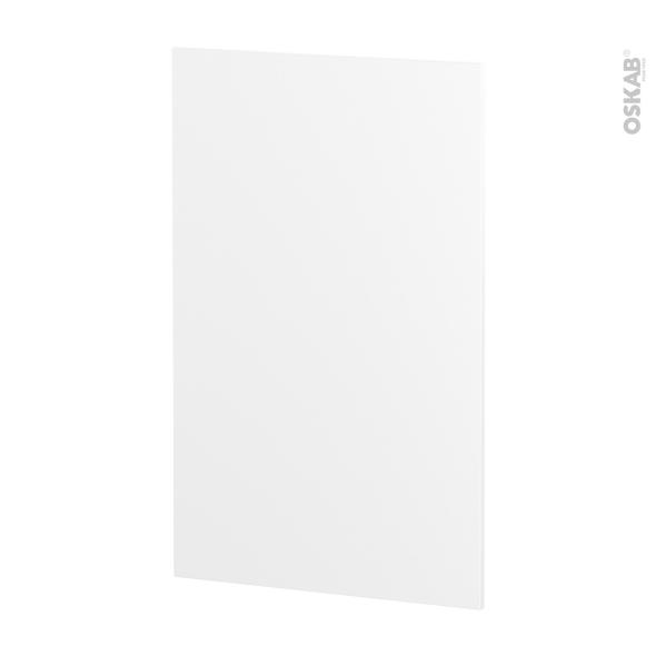 IPOMA Blanc mat - Rénovation 18 - joue N°79 - Avec sachet de fixation - L60 x H92 Ep.1.2 cm