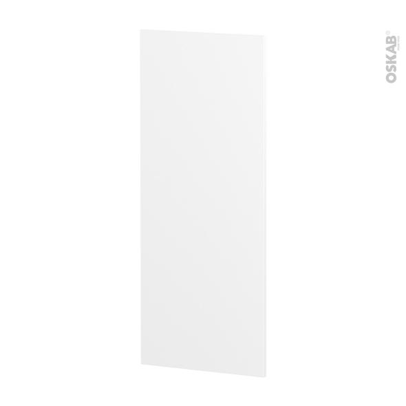 IPOMA Blanc mat - Rénovation 18 - joue N°82 - Avec sachet de fixation - L37.5 x H92 Ep.1.2 cm