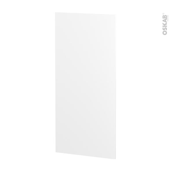 IPOMA Blanc mat - Rénovation 18 - joue N°80 - Avec sachet de fixation - L60 x H125 Ep.1.2 cm