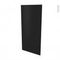 Finition cuisine - Joue N°33 - IPOMA Noir mat - L58.4 x H125 cm