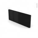 IPOMA Noir mat  - plinthe N°35 - L220xH15