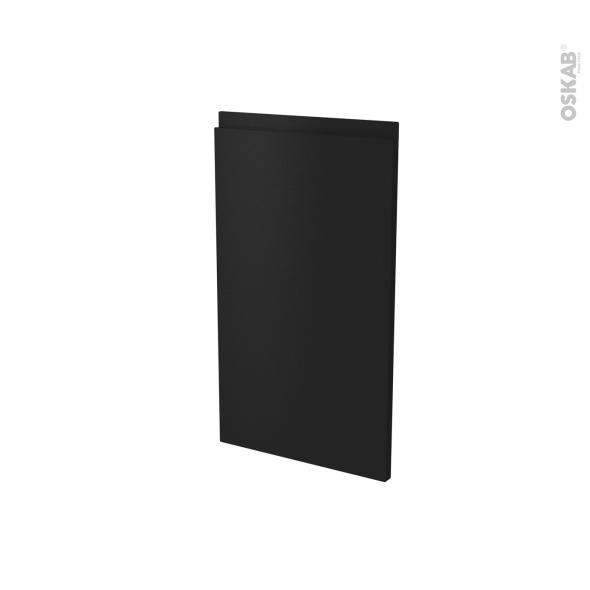 Façades de cuisine - Porte N°85 angle - IPOMA Noir mat - L40 x H70 cm