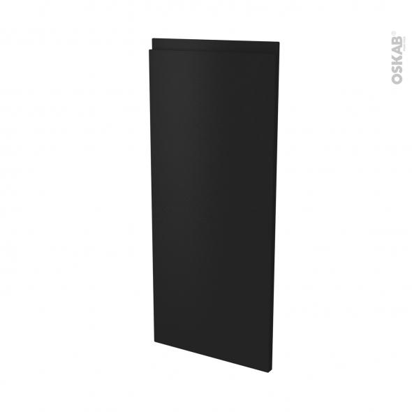 Façades de cuisine - Porte N°86 angle - IPOMA Noir mat - L38,8 x H92 cm