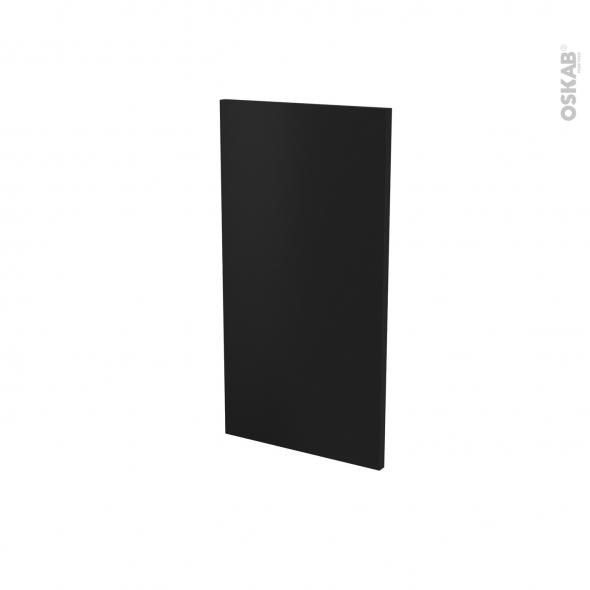 Finition cuisine - Joue N°30 - IPOMA Noir mat - Avec sachet de fixation - A redécouper - L37 x H35 cm