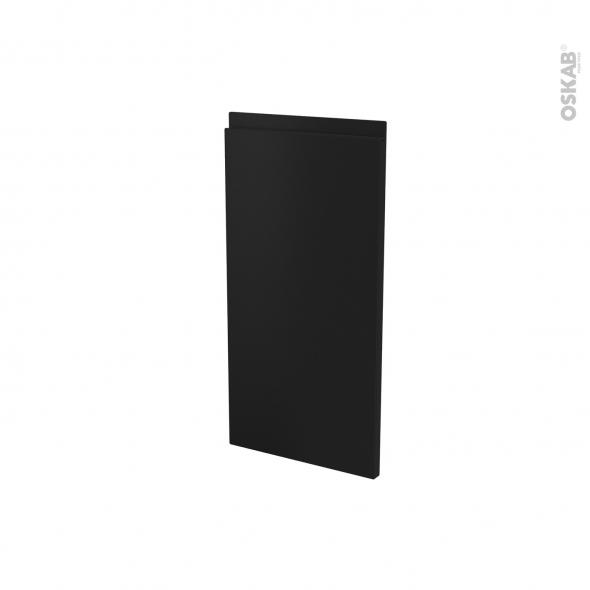 Porte lave vaisselle - Full intégrable N°87 - IPOMA Noir Mat - L45 x H70 cm