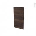 Finition cuisine - Joue N°30 - IPOMA Noyer - L37.4 x H70 cm