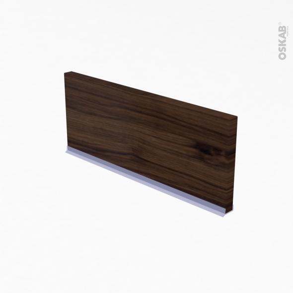 IPOMA Noyer - Kit Rénovation 18 - Plinthe n°35 - Avec joint d'étanchéité - L220xH15.4
