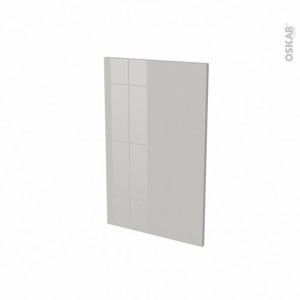 Porte lave vaisselle - Full intégrable N°87 - IVIA Gris - L45 x H70 cm