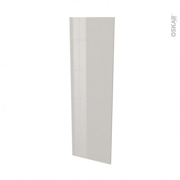 Finition cuisine - Joue N°88 - IVIA Gris - Avec sachet de fixation - L58 x H195 x Ep 1,6 cm
