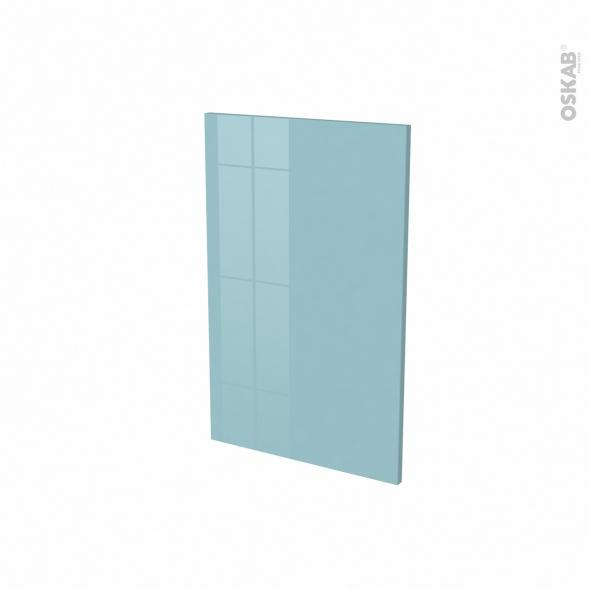 Porte lave vaisselle - Full intégrable N°87 - KERIA Bleu - L45 x H70 cm