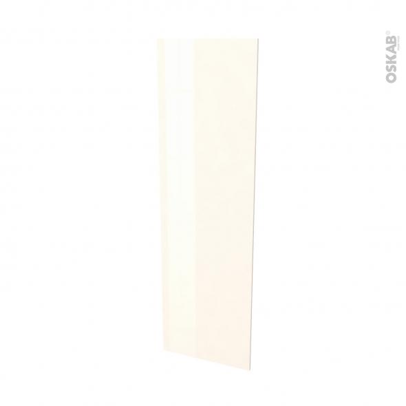 Finition cuisine - Joue N°88 - KERIA IVOIRE  - Avec sachet de fixation - L58 x H195 x Ep 1,6 cm