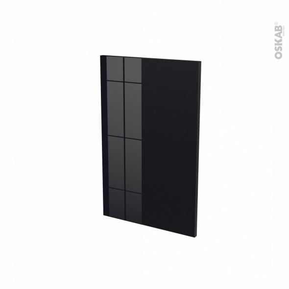 Façades de cuisine - Porte N°87 - KERIA Noir - L45 x H70 cm
