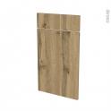 Façades de cuisine - 1 porte 1 tiroir N°51 - OKA Chêne - L40 x H70 cm