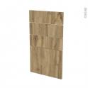 Façades de cuisine - 4 tiroirs N°53 - OKA Chêne - L40 x H70 cm
