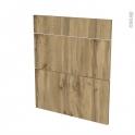 Façades de cuisine - 3 tiroirs N°58 - OKA Chêne - L60 x H70 cm