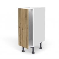 Meuble de cuisine - Bas - OKA Chêne - 1 porte - L30 x H70 x P58 cm