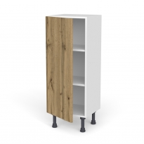 Meuble de cuisine - Bas - OKA Chêne - 1 porte - L40 x H92 x P37 cm