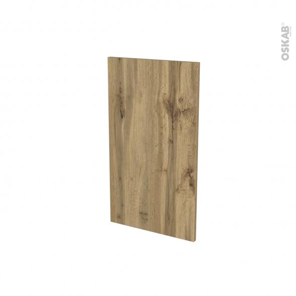 Finition cuisine - Habillage arrière ilôt N°92 - OKA Chêne  - Avec sachet de fixation - L40 x H70 x Ep 1,6 cm