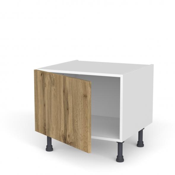 Meuble de cuisine - Bas - OKA Chêne - 1 porte - L60 x H41 x P58 cm
