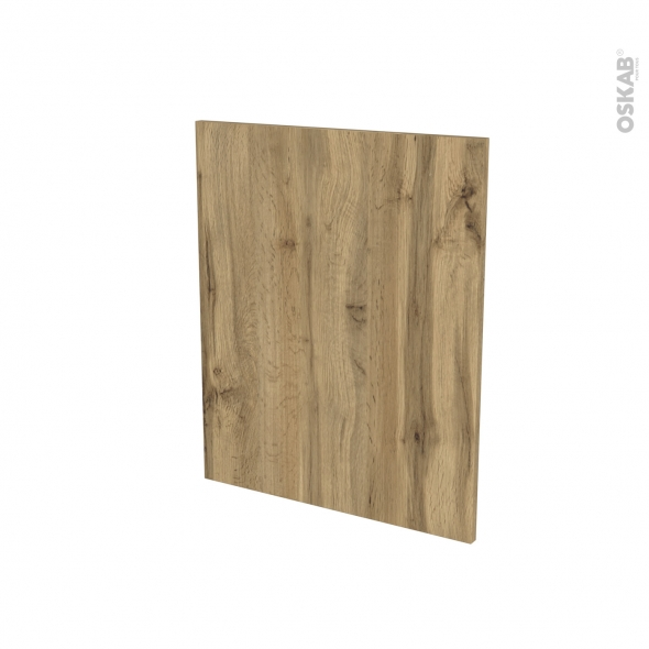Finition cuisine - Joue N°29 - OKA Chêne - Avec sachet de fixation - L58 x H70 x Ep.1.6 cm