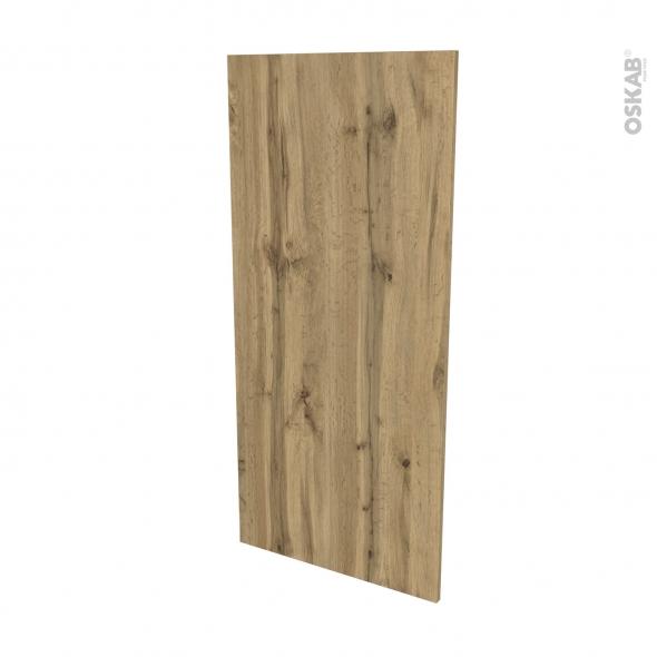 Finition cuisine - Joue N°33 - OKA Chêne - Avec sachet de fixation - L58 x H125 x Ep.1.6 cm