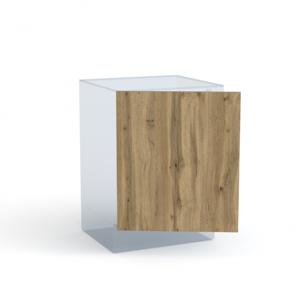 Porte lave linge - à repercer N°21 - OKA Chêne - L60 x H70 cm