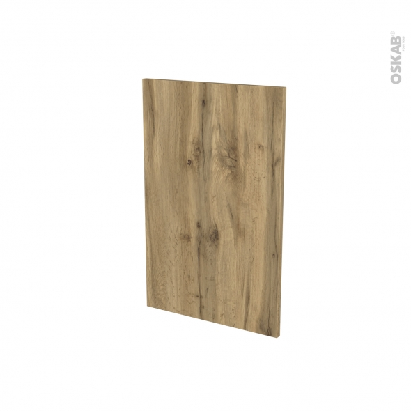 Porte lave vaisselle - Full intégrable N°87 - OKA Chêne - L45 x H70 cm