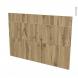 Façades de cuisine - 3 tiroirs N°75 - OKA Chêne - L100 x H70 cm