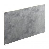 Crédence de cuisine N°502 - Décor Beton Gris clair - Stratifié - L300 x H64 x E0,9 cm - PLANEKO