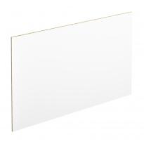 PLANEKO - Chant crédence N°34 - Blanc extra mat - L500xl1,3xE0,1cm