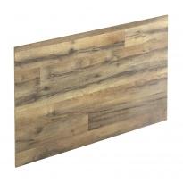 Crédence de cuisine N°208 - Décor Chêne authentique - Stratifié - L300 x H64 x E0,9 cm - PLANEKO
