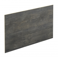 Crédence de cuisine N°210 - Décor Chêne noirci - Stratifié - L300 x H64 x E0,9 cm - PLANEKO