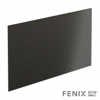 PLANEKO - Crédence N°506 - Noir Métal - L300xH64xE0,9