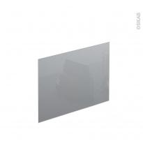 PLANEKO - Crédence N°602 - Verre Gris - L60xH45xE0,4