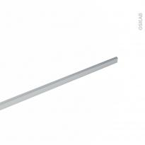 PLANEKO - Profil finition alu brut - Crédence - 1m