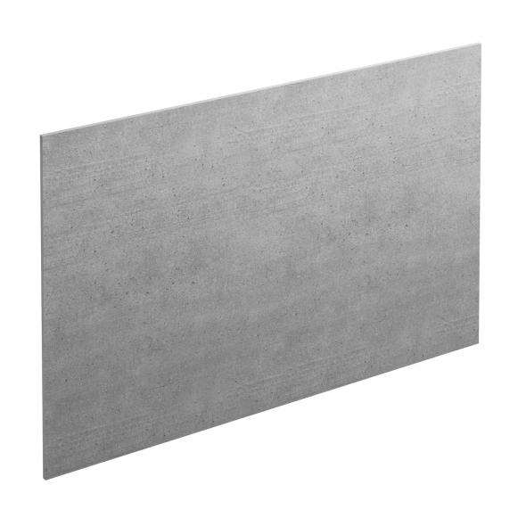 Crédence salle de bains N°503 - Décor Béton banché - Stratifié - L300 x H64 x E0,9 cm - PLANEKO