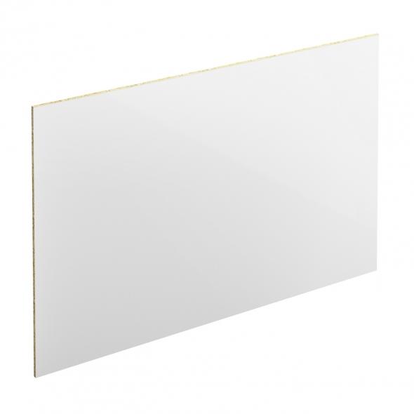 PLANEKO - Chant crédence N°16 - Blanc brillant - L500xl1,3xE0,1cm