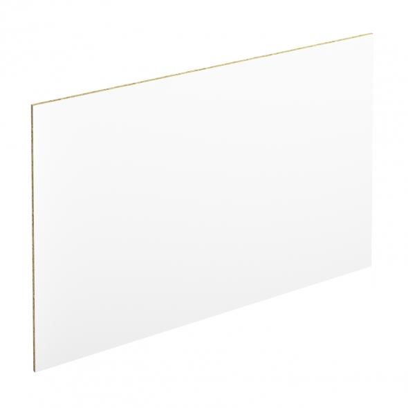 PLANEKO - Crédence salle de bains N°104 - Blanc extra mat - L300xH64xE0,9