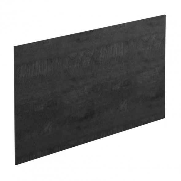 PLANEKO - Chant crédence N°21 - Bois grisé scié - L500xl1,3xE0,1cm