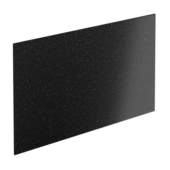 Crédence salle de bains N°309 - Décor Noir galaxie - Stratifié - L300 x H64 x E0.9cm - PLANEKO