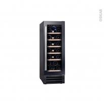 Cave à vin de service - Sous plan 30cm - Noir - CANDY - CCVB30