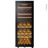 Cave à vin - Pose libre 127 cm - Noir - HAIER - HWS77GDAU1