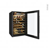 Cave à vin de service - Pose libre 85cm - Noir - CANDY - CWC 154 EEL/N
